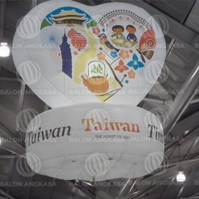 Balon Hati Taiwan Travel Singapore