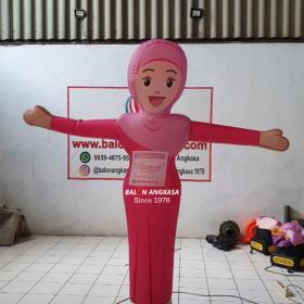 balon sky dancer hijabers balon-angkasa.com